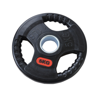 Rubber Tri-Grip Weight Plate